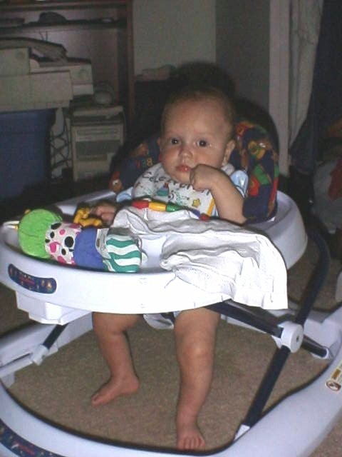 Nehalem in his walker